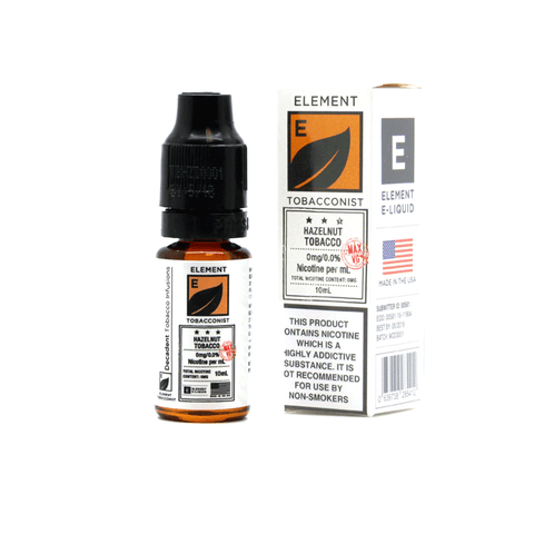 Hazelnut Tobacco by Element E-Liquid - 10ml