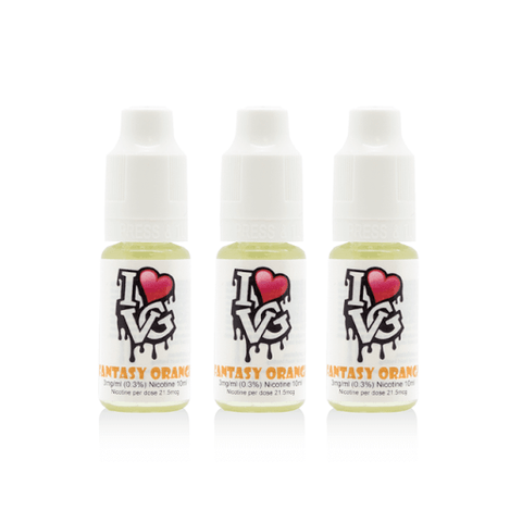 I Love VG - Fantasy Orange - 3 x 10ml
