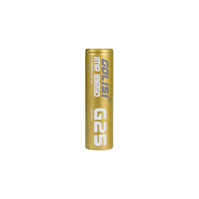 Golisi G25 18650 - 2500mAh Battery (Single)