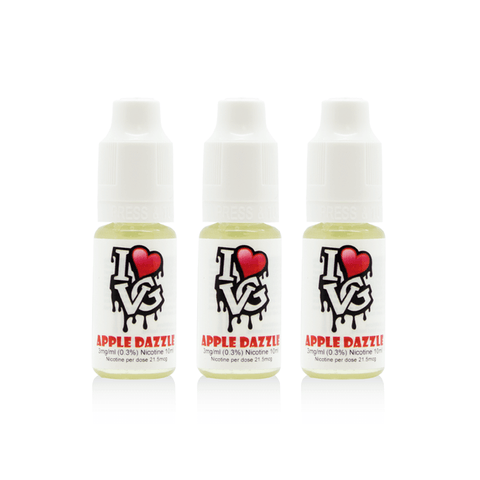 I Love VG - Apple Dazzle - 3 x 10ml