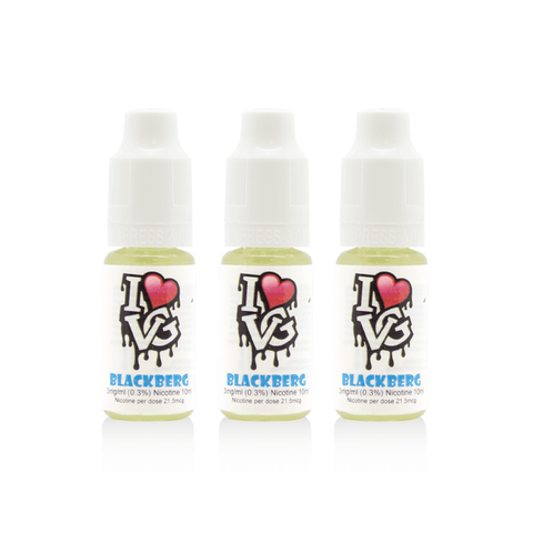 I Love VG - Blackberg - 3 x 10ml