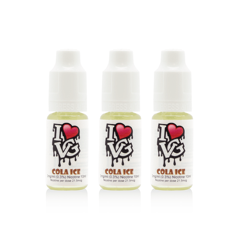 I love VG - Cola Ice - 3 x 10ml