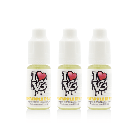 I Love VG - Pineapple Blast - 3 x 10ml
