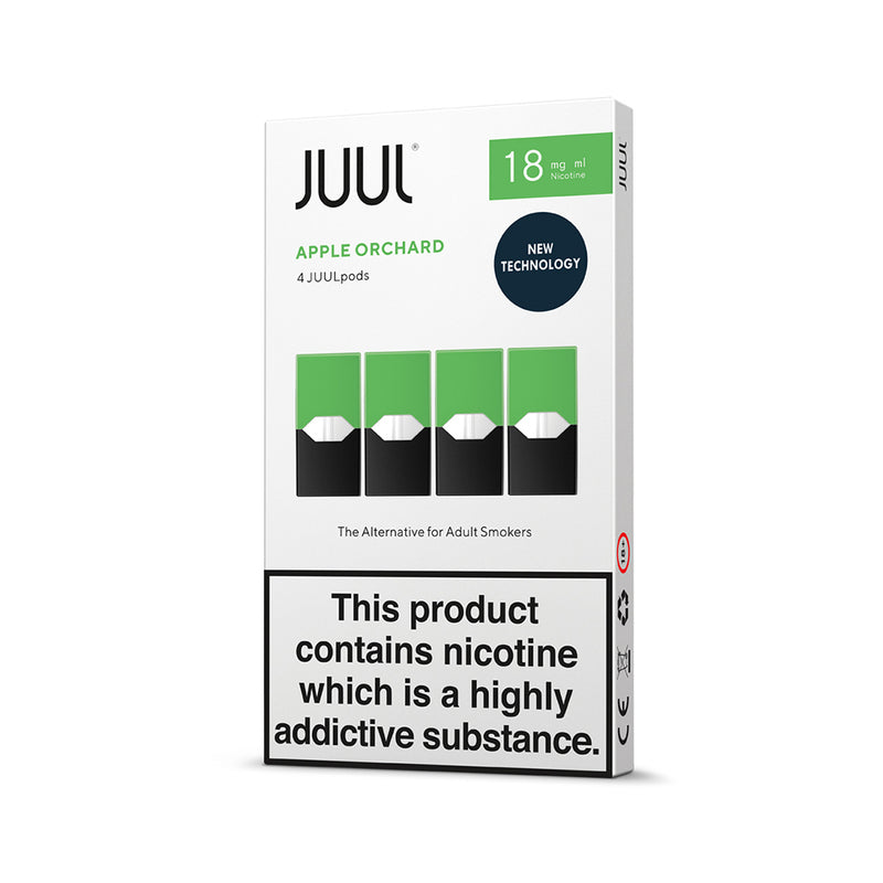 JUUL Apple Orchard Pods (Pack of 4) - 18mg