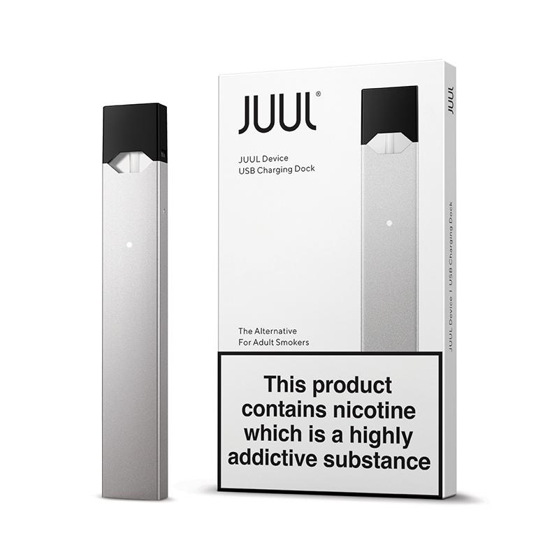 JUUL Device Kit Silver (Limited Edition)