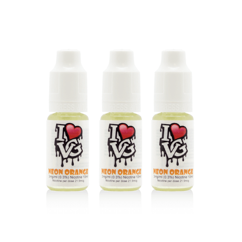 I Love VG - Neon Orange - 3 x 10ml