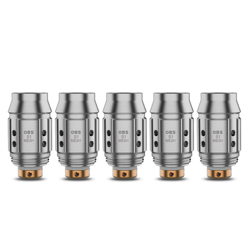 OBS Cube Mini Coils (Pack of 5)