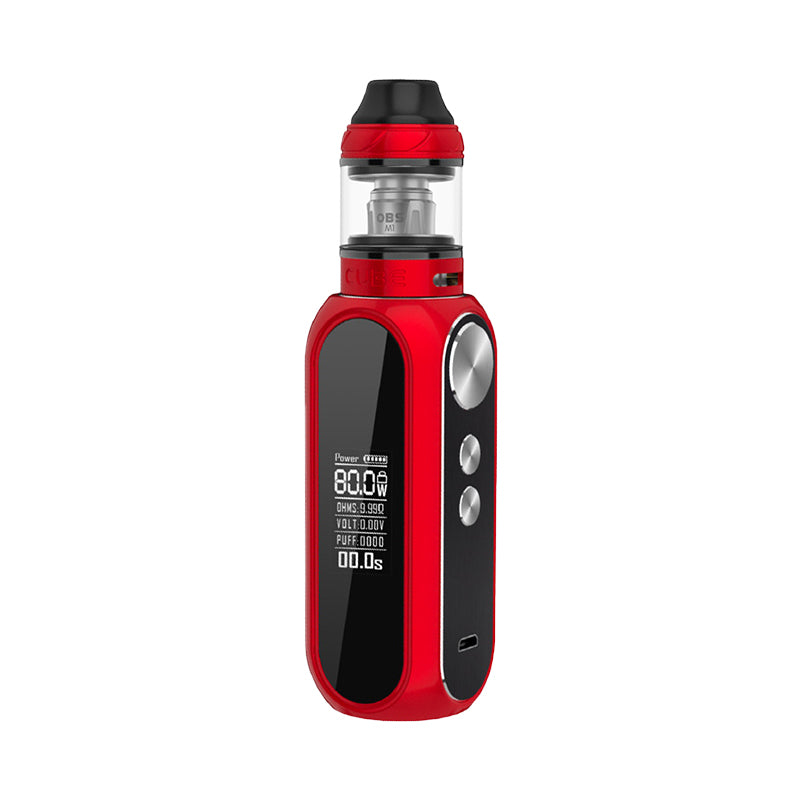 OBS Cube Starter Vape Kit - Red