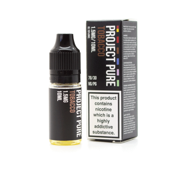 Project Pure Tobacco - 1.5mg