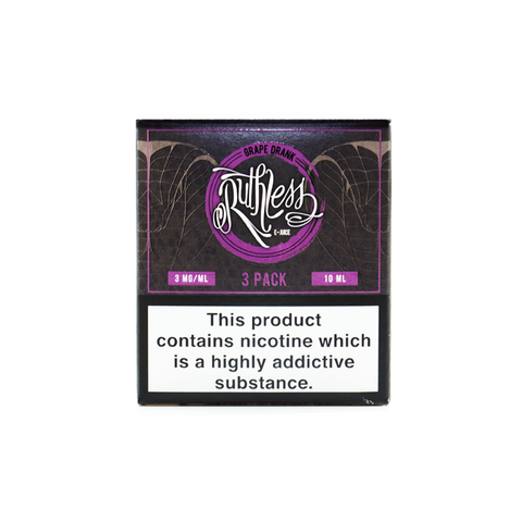 Ruthless - Grape Drank - 3 x 10ml