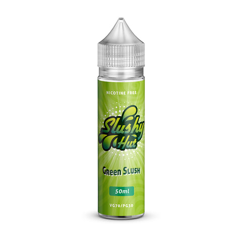 Slushy Hut Green Slush Short Fill - 50ml