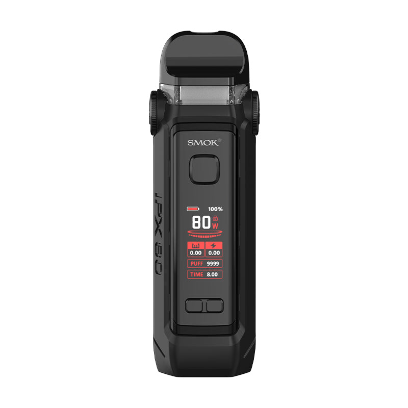 SMOK IPX 80 Pod Mod 80W Vape Kit - Fluid Black Grey