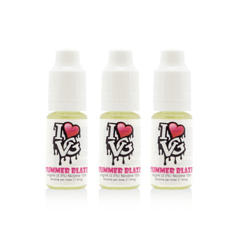 I Love VG - Summer Blaze - 3 x 10ml