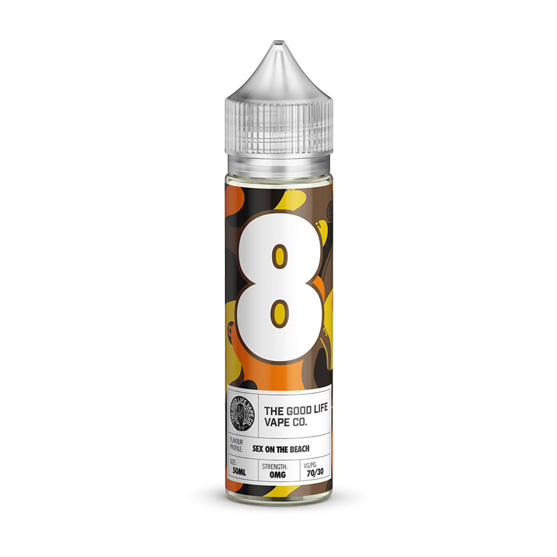 Sex on the Beach E-Liquid Shortfill by The Good Life Vape Co