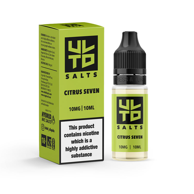 ULTD Citrus Seven Nic Salt - 10ml - 10mg