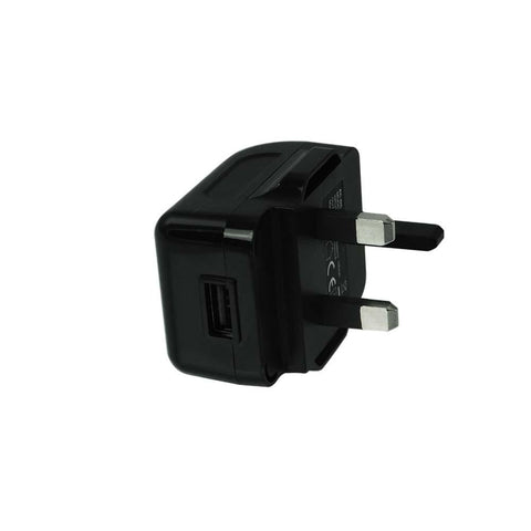 UK Mains 1.0A 5V USB Ecig Plug