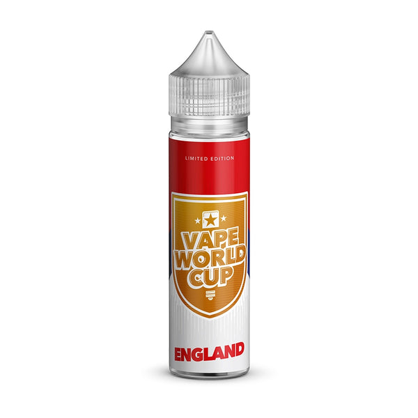 Vape World Cup - England 50ml Short Fill E-Liquid