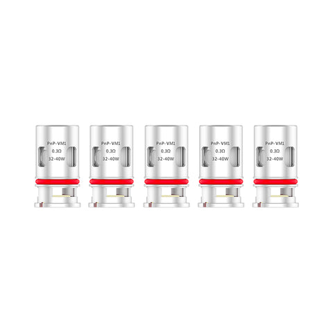 VooPoo PnP Coils (Pack of 5)
