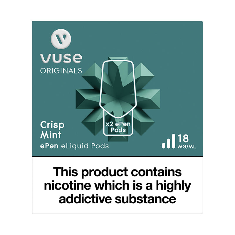 Vuse ePen Caps Crisp Mint - 18mg