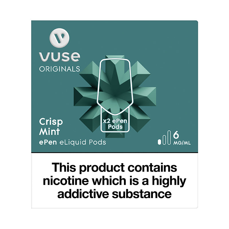 Vuse ePen Caps Crisp Mint - 6mg