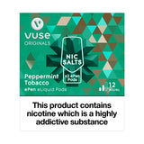 Vuse ePen Caps vPro Peppermint Tobacco - 12mg