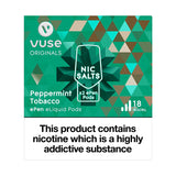 Vuse ePen Caps vPro Peppermint Tobacco - 18mg