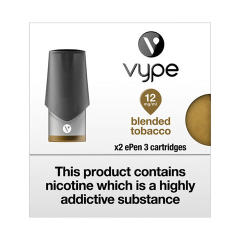 Vype ePen 3 Blended Tobacco Pods (Pack of 2)