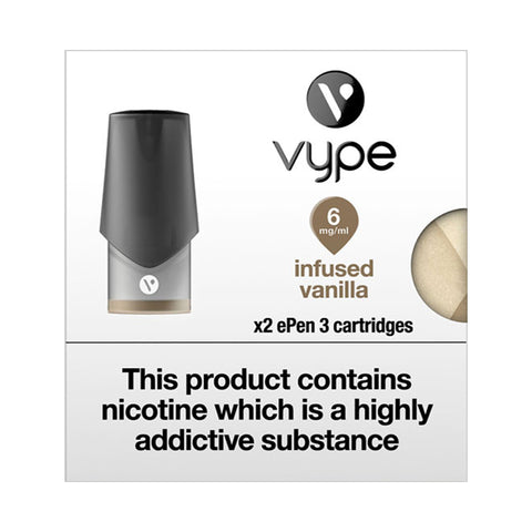 Vype ePen 3 Infused Vanilla Pods (Pack of 2)