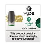Vype ePen 3 vPro Crushed Mint Pods (Pack of 2)