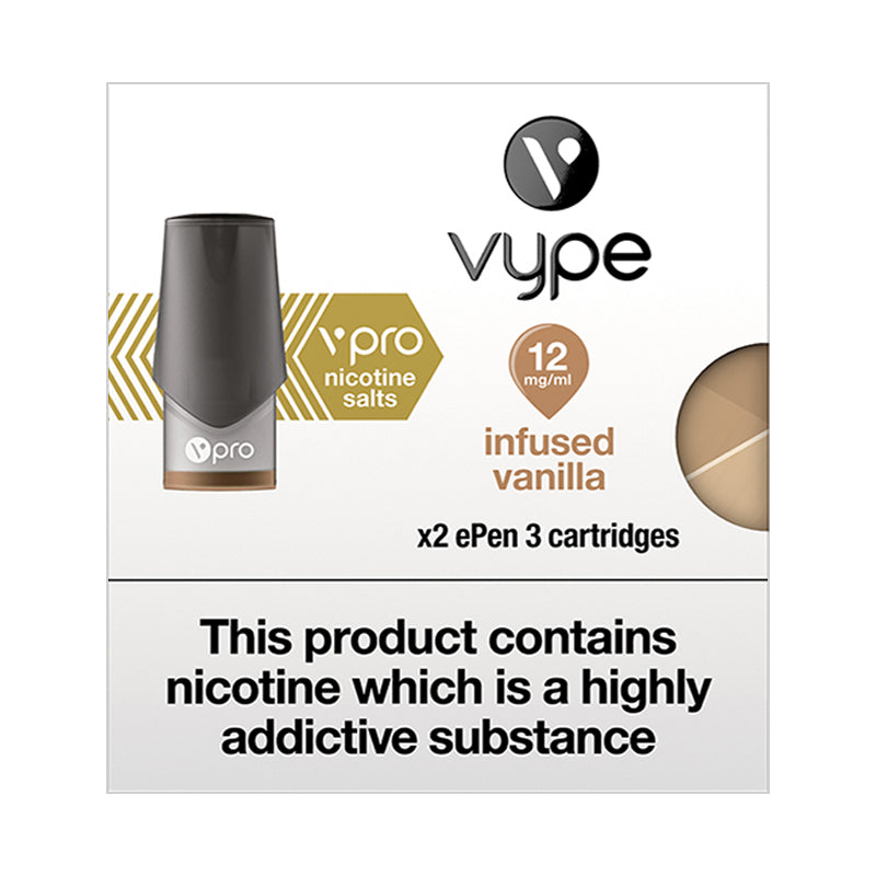 Vype ePen 3 vPro Infused Vanilla Pods (Pack of 2)