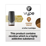 Vype ePen 3 vPro Master Blend Tobacco Pods (Pack of 2)