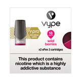 Vype ePen 3 vPro Wild Berries Pods (Pack of 2)