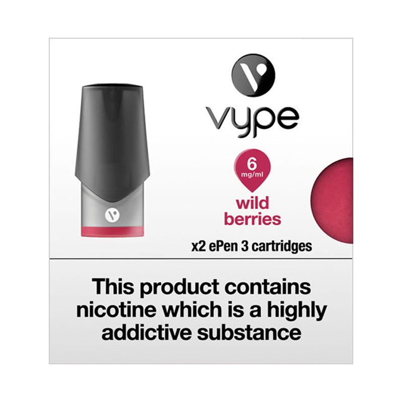 Vype ePen 3 Wild Berries Pods (Pack of 2)
