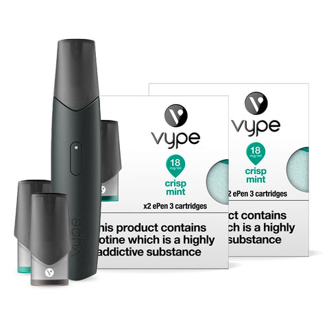 Vype ePen 3 Starter Kit Bundle