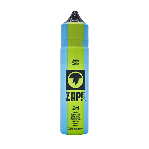 ZAP! Juice - Vintage Cola Range - Lime Cola - 50ml - Short Fill