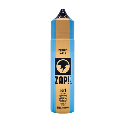 ZAP! Juice - Vintage Cola Range - Peach Cola - 50ml - Short Fill