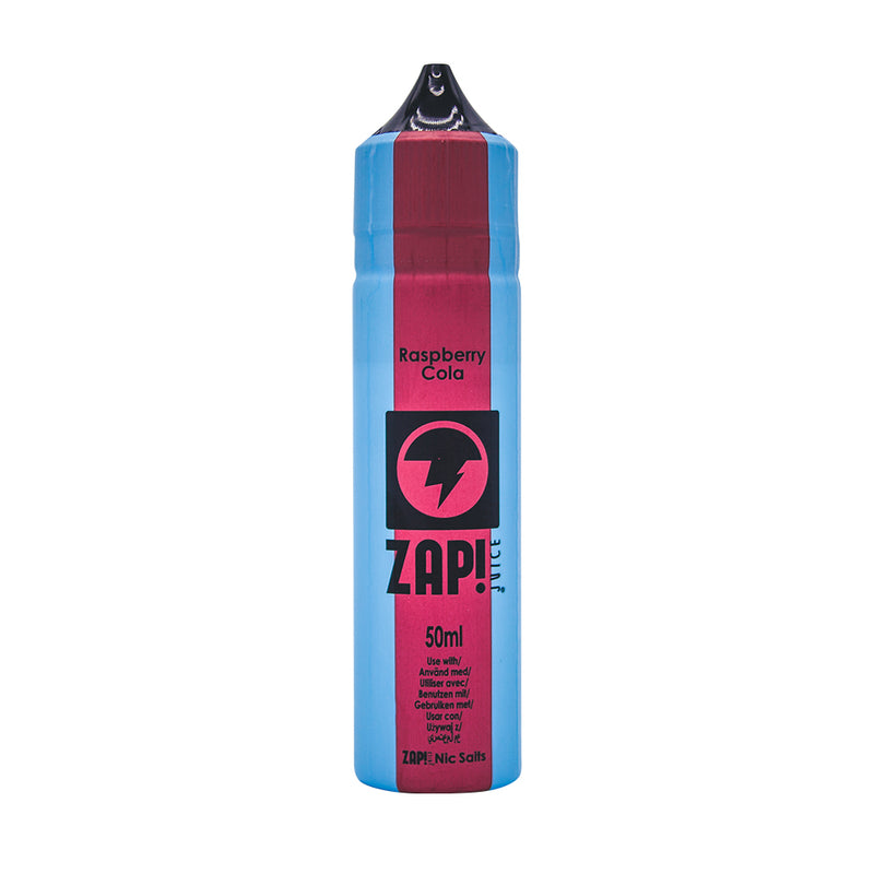 ZAP! Juice Vintage Cola Range Raspberry Cola Short Fill - 50ml