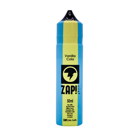 ZAP! Juice - Vintage Cola Range - Vanilla Cola - 50ml - Short Fill
