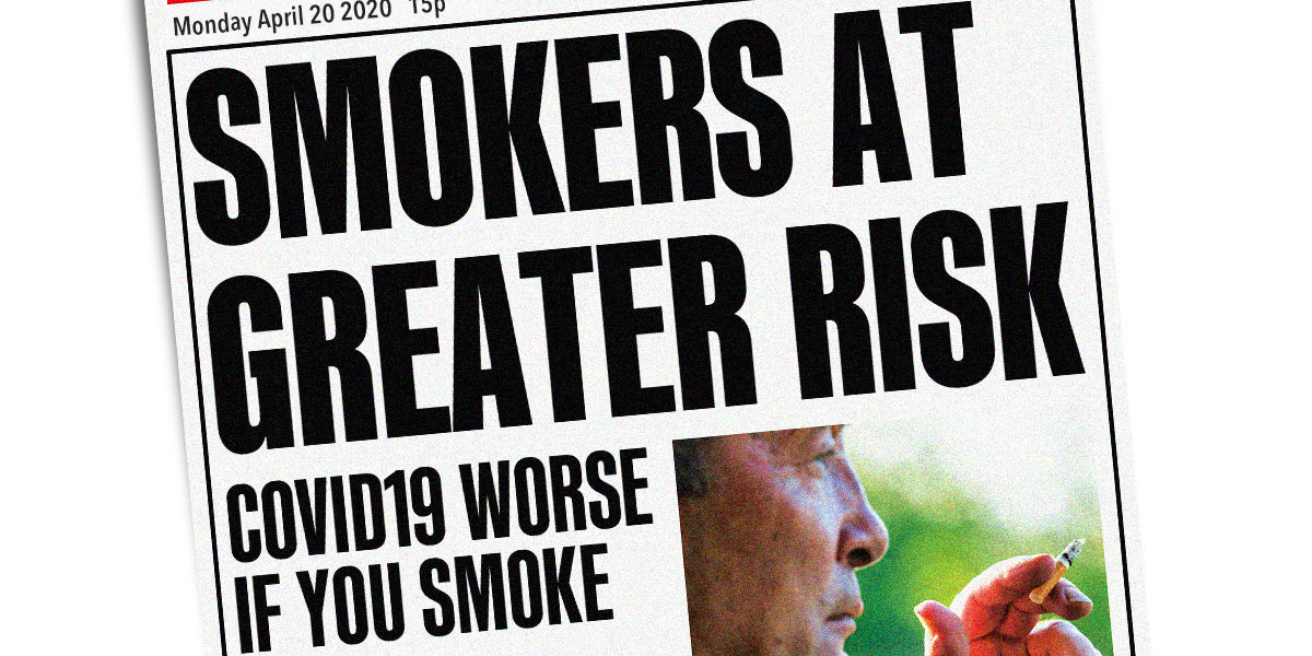 Smokers At Greater Risk of Severe Covid-19 Symptoms