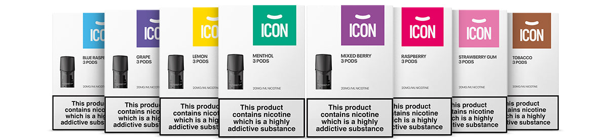 ICON Vape Pods - All Flavours