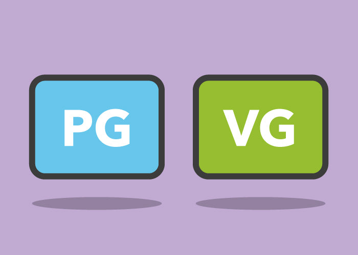 What is PG and VG in E‑liquid?