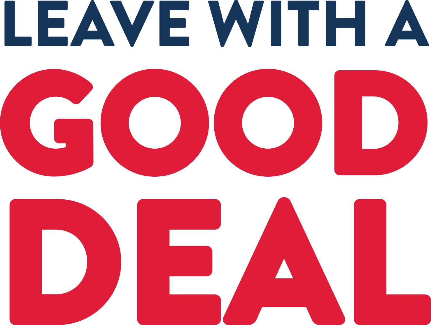 Leave with a good deal
