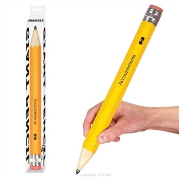 GIANT WOODEN PENCIL