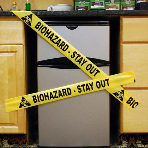 BIOHAZARD CRIME SCENE TAPE