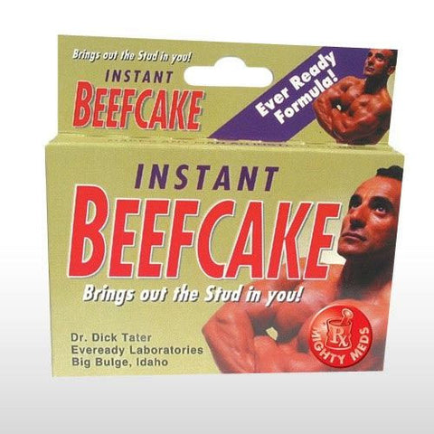 INSTANT BEEFCAKE MIGHTY MEDS JOKE PILLS