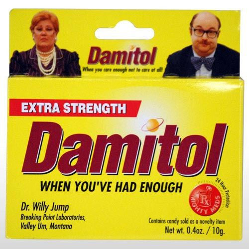 EXTRA STRENGTH DAMITOL MIGHTY MEDS JOKE PILLS