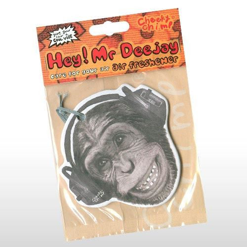 HEY MR DJ CAR AIR FRESHENER