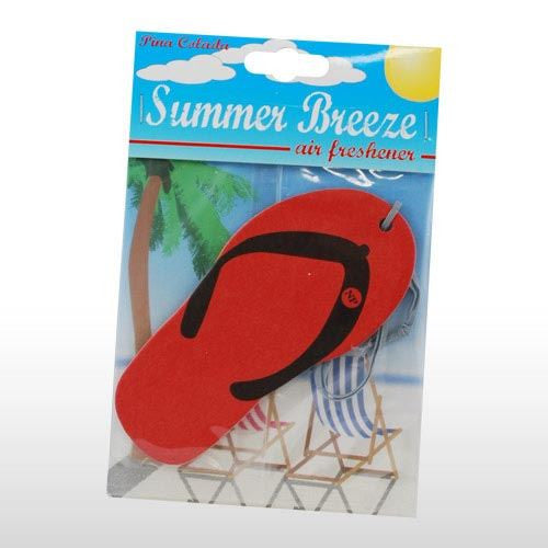 RED FLIP FLOP CAR AIR FRESHENER