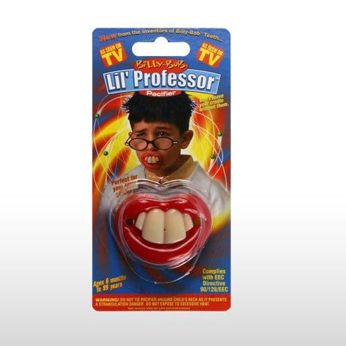 BILLY BOB LITTLE PROFESSOR PACIFIER