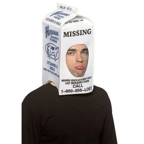 ADULT MILK CARTON HAT